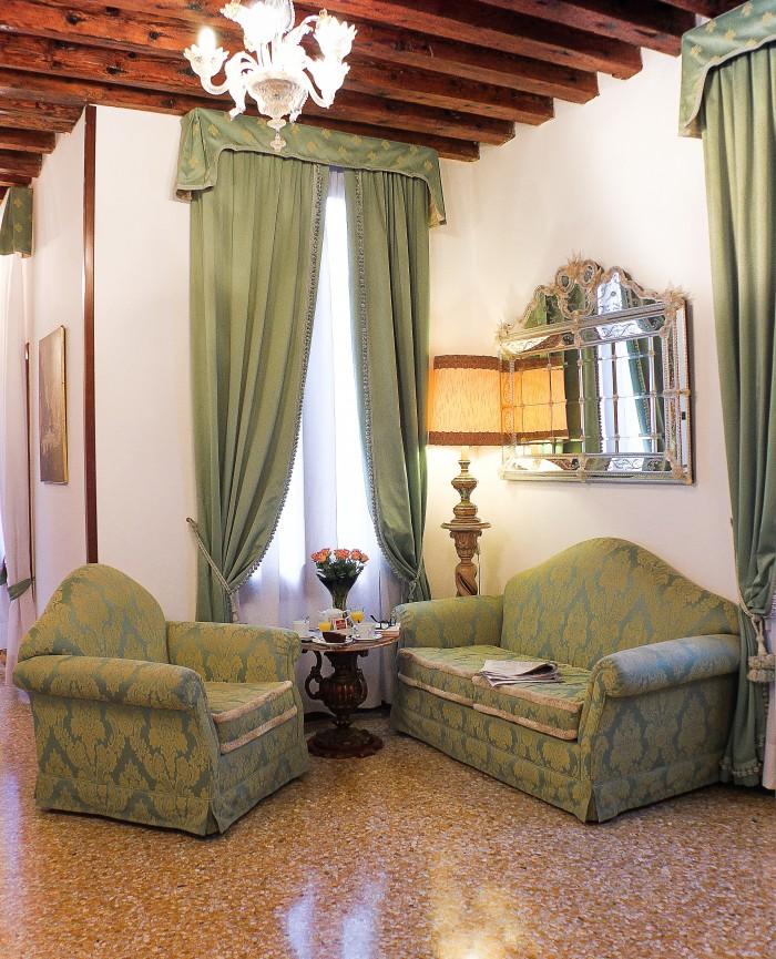 sofa living area tea apostoli palace murano glass apostoli venice